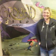 Founder, Eva Sowinski, at 2nd Annual GZAEXPO
