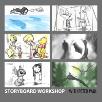 STORYBOARD WORKSHOP WITH PETER PAUL
