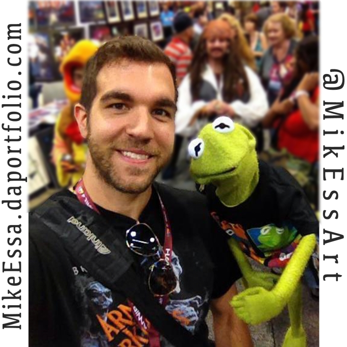 Mike and Kermit